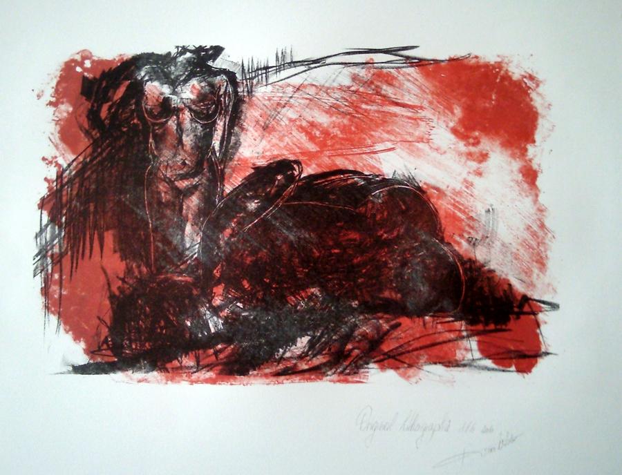lithographie Karo Art